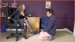Office humiliating discipline