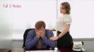 Velicity Von se fait tringler sur lu bureau du directeur