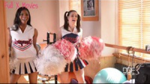 Nekane Jasmine Webb From Pom Poms And Dong Dongs Kinky Threesome With Cheerleaders