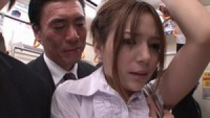 Hairy pussy babe Rio naughty Asian office lady is in to public sex