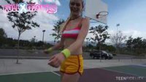 TeenFidelity Alli Rae Make Em Sweat 4 360p