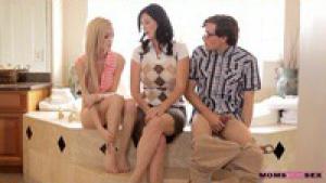 Skylar Green prend des cours d'éducation sexuelle avec belle maman