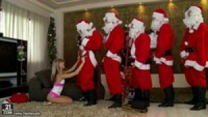 Doris Ivy fête Noël à sa manière