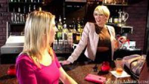 The barmaid Kagney Linn Karter gets fuckedin her own restaurant