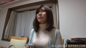 Hot milf Saki Mizumi is a horny housewife at  mbd  saki mizumi titty fucking young housewife h