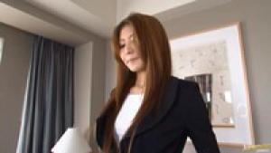 Sana Heart Lovely Asian secretary